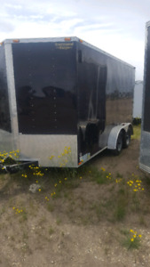 2016 16 foot enclosed trailer