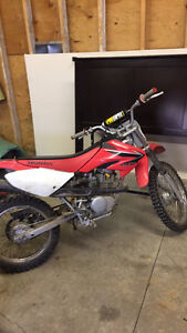 2008 Crf100f!! Want gone!! 1200$!