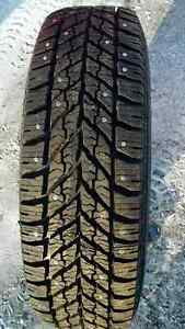 4 New 235/75R 15 Goodyear Winter Studded Tires