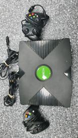 XBOX ORIGINAL 2 CONTROLLERS