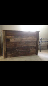 Custom Rustic Beds- Free nightstands!