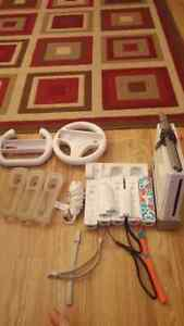Wii 18 games charger station covers for remote accessories