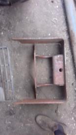 Massey ferguson front weights frame