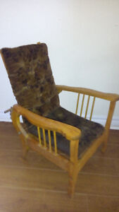 1930's ANTIQUE CHILDS MORRIS CHAIR - VERY UNIQUE INDEED!!