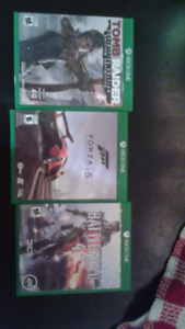3 Xbox one games for $30