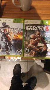 Xbox Far cry Battlefield 4