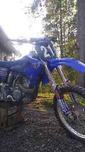 Yamaha yz250f motocross