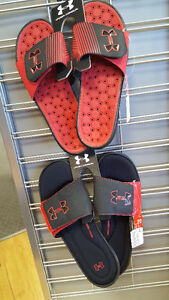 Under Armour Sandals Size 20 and 15