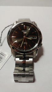 New Seiko Mens Automatic Watch