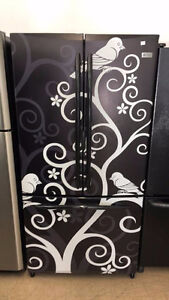 ◆ECONOPLUS BLACK GE PROFILE FRENCH DOOR FRIDGE 599 $ TX INCL ◆