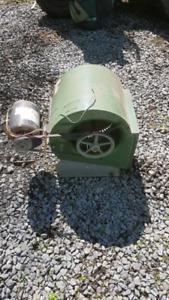 Fan unit of oil furnace