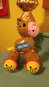 Press  and Dash Horse Toy for Infants and Toddlers