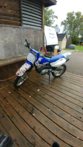 2001 Yamaha TTR125 for sale or trade