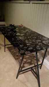 Ikea tempered glass table