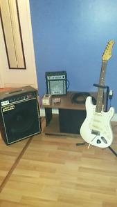 guitare et accesoire de guitare