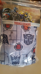 """4/5T """"Transformers,"""" pajamas set..BRAND NEW IN PACKAGE"""
