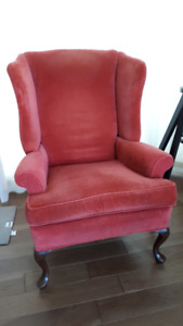 Vintage Barrymore Wing Chair