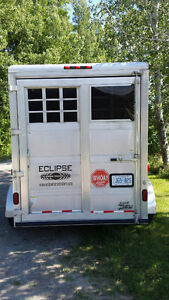 Used 2008 Eclipse 2-3 Horse / Stock Trailer