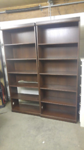 2 large shelving units