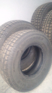 SELLING 4 COOPER DISCOVERY MUD & SNOW 285 75 R16. TRUCK TIRES