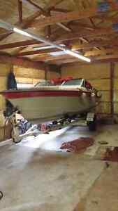 1988 Larson Senza 20' and boat trailer Peterborough Peterborough Area image 3