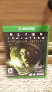 Alien isolation xbox one 15$