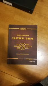 Fallout 4 collectors edition hard cover book
