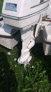 40hp Gale outboard motor short shaft