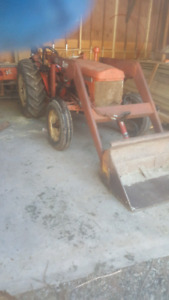 Nuffield tractor with loader
