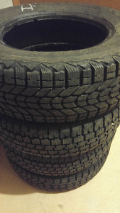 4 WINTER TIRES.. WILL FIT ANY 2003 HONDA CIVIC