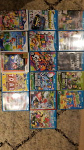 Nintendo console Wii U with 16 games