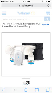 For sale! First years double electric breast pump