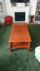 Teak coffee table for sale