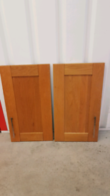 Howdens Solid Oak Tewkesbury 40cm Shaker Kitchen Door (Discontinued)