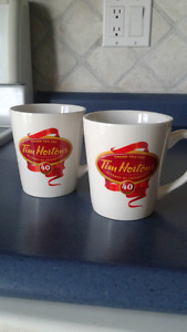 Tim Hortons 40 Years cups