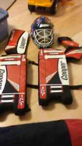 Street hockey gear