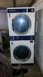 Dual dryer dexter coin operated $1000 each