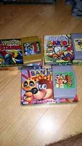 Ensemble Jeux de N64 et console à vendre (Négociable)