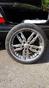 Giovanna rims 3 have tires Regina Regina Area image 1