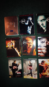TV Seasons / Series GREAT PRICES - 24, Smallville, Greys +more