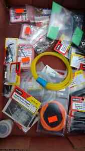 Box assorted rc plane parts. All brand new