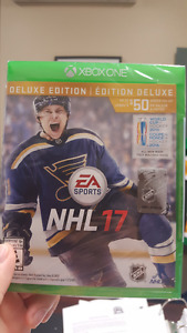 NHL 17 (DELUXE EDITION) X-Box One