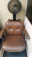 Hooded Hair dryer with chair $40