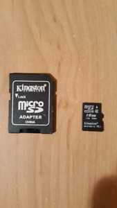 Carte Micro SD Kingston