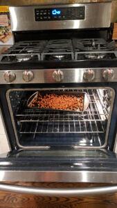 Samsung gas stove/range