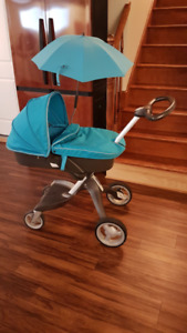 Stokke Xplory Blue - All accessories included