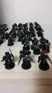 warhammer 40k converted space marines lot for trade or 50.00