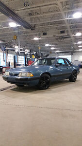 1988 Ford Mustang LX Turbocoupe (2 door)