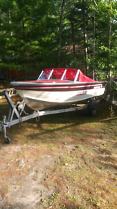 16 ' Smokercraft boat /Motor /trailer