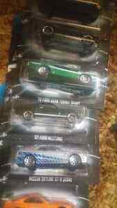 Fast & Furious hot wheels complete set